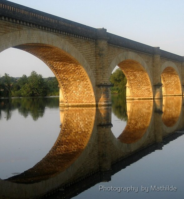 Reflected  Tranquility -  Mauzac, France by Photography  by Mathilde