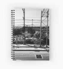 Plenty Of Power Lines And Telephone Lines Spiral Notebook