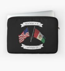Distressed Mexican-American  Laptop Sleeve