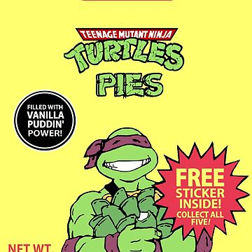 Teenage Mutant Puddin' Pies by Faction