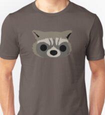 Raccoon Face Unisex T-Shirt