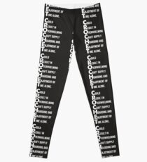 Crochet Acronym Could Result In Shirt Funny Knitting Pun Tee Leggings