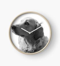 Cute Doggy Clock
