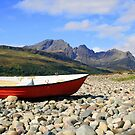 The Boat and Blaven by Alexander Mcrobbie-Munro