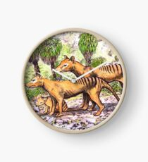 Thylacine family Clock