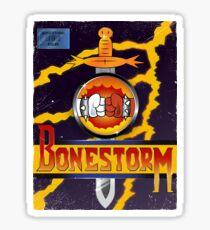 Bonestorm Cover Vintage Sticker