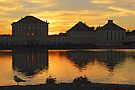 Nymphenburg Palace Sunset by Kasia-D