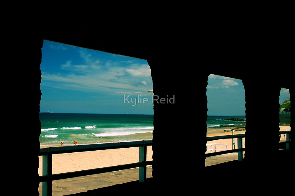 Newcastle Beach  by Kylie Reid