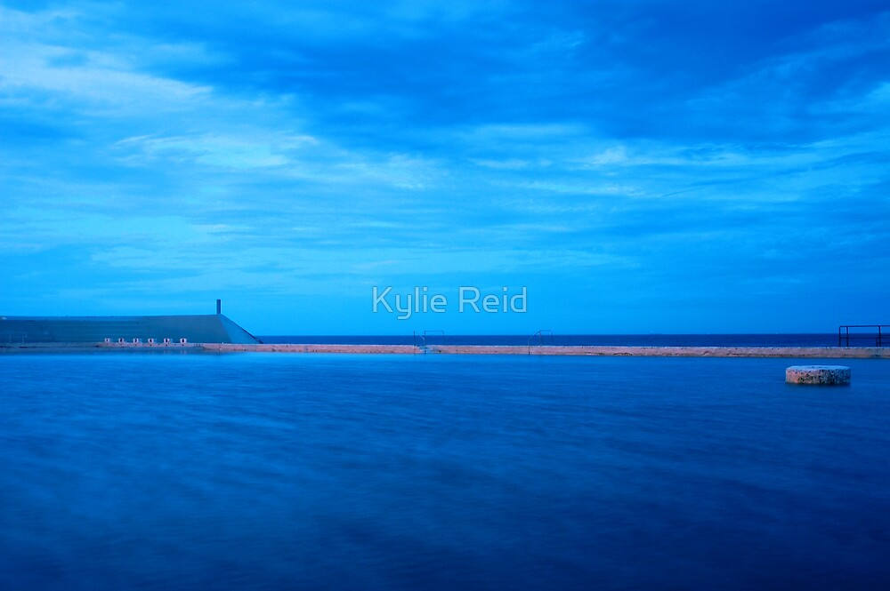 Newcastle Ocean Baths by Kylie Reid