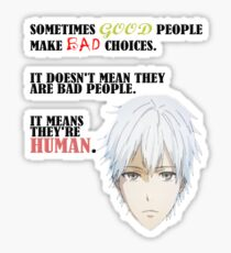 Humans. (Tokyo Ghoul) By Tokyo_Fool Sticker