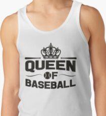 Queen of baseball Tank Top