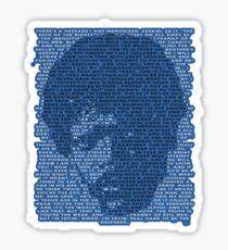 Jules Winnfield in Blue Sticker