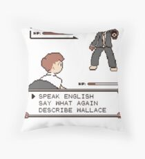 Jules Winnfield - Pulp Fiction Quotes Throw Pillow