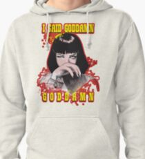Uma Thurman, Pulp Fiction Pullover Hoodie