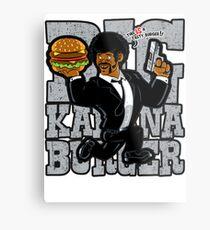 Jules - Tasty Burger Metal Print