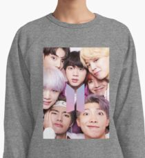 BTS Group PHOTO Case / Poster ECT ( Selfie ) With Logo 2018 Lightweight Sweatshirt