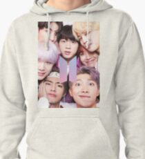 BTS Group PHOTO Case / Poster ECT ( Selfie ) With Logo 2018 Pullover Hoodie