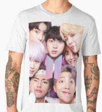 BTS Group PHOTO Case / Poster ECT ( Selfie ) With Logo 2018 Men's Premium T-Shirt