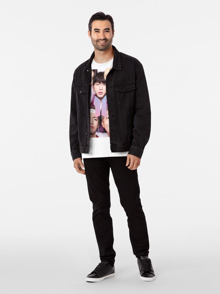 Vista alternativa de Camiseta premium BTS Group PHOTO Case / Poster ECT (Selfie) con logotipo