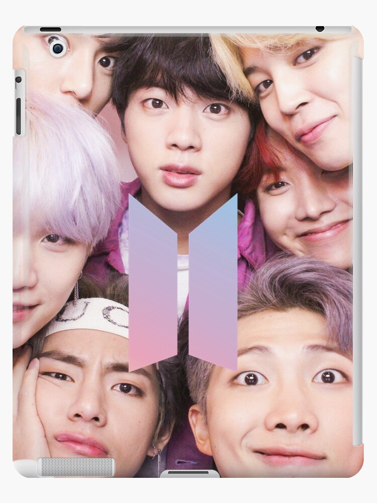 «BTS Group PHOTO Case / Poster ECT (Selfie) con logotipo» de KpopTokens