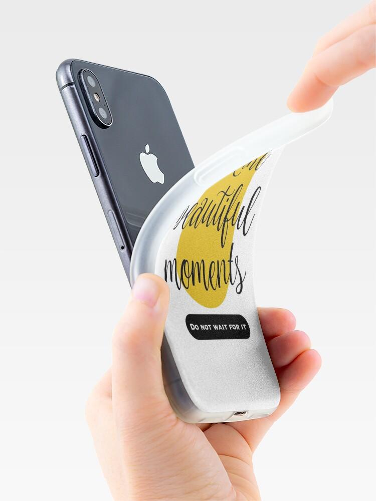 Vista alternativa de Vinilos y fundas para iPhone Make beautiful moments Camisetas