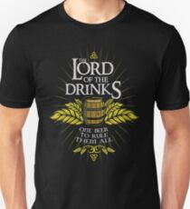 Lord of the Drinks Unisex T-Shirt