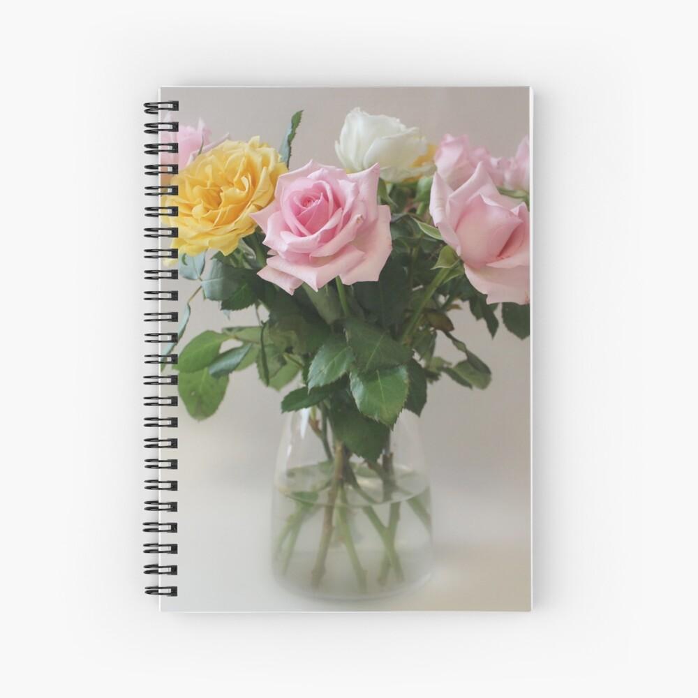 Still Life Roses Spiralblock