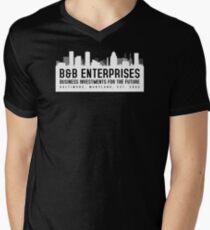 The Wire - B&B Enterprises - White Men's V-Neck T-Shirt