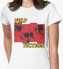 Pulp Fiction Paiting Women's Fitted T-Shirt