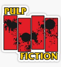Pulp Fiction Paiting Sticker