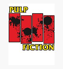 Pulp Fiction Paiting Photographic Print
