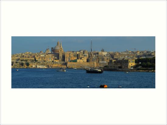 Marsmaxett Harbor, Valetta, Malta by Igor Pozdnyakov
