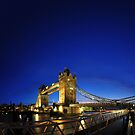 London Tower Bridge No. 1.000.001 by Dominic Kamp