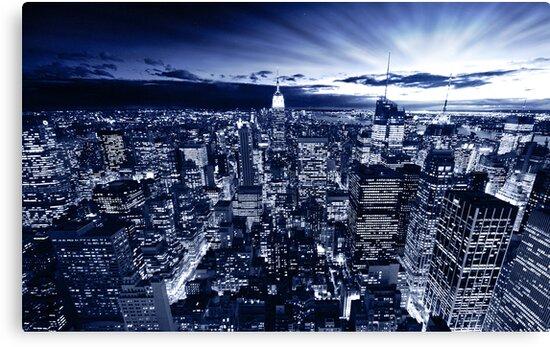 Blue York by Dominic Kamp