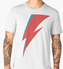 Lightning - David Bowie Men's Premium T-Shirt