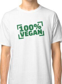 100% Vegan Classic T-Shirt