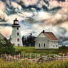 Panmure Island Lighthouse, PEI by Amanda White