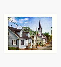 Lunenburg, Nova Scotia Art Print
