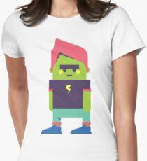 Little green flash dude Women's Fitted T-Shirt