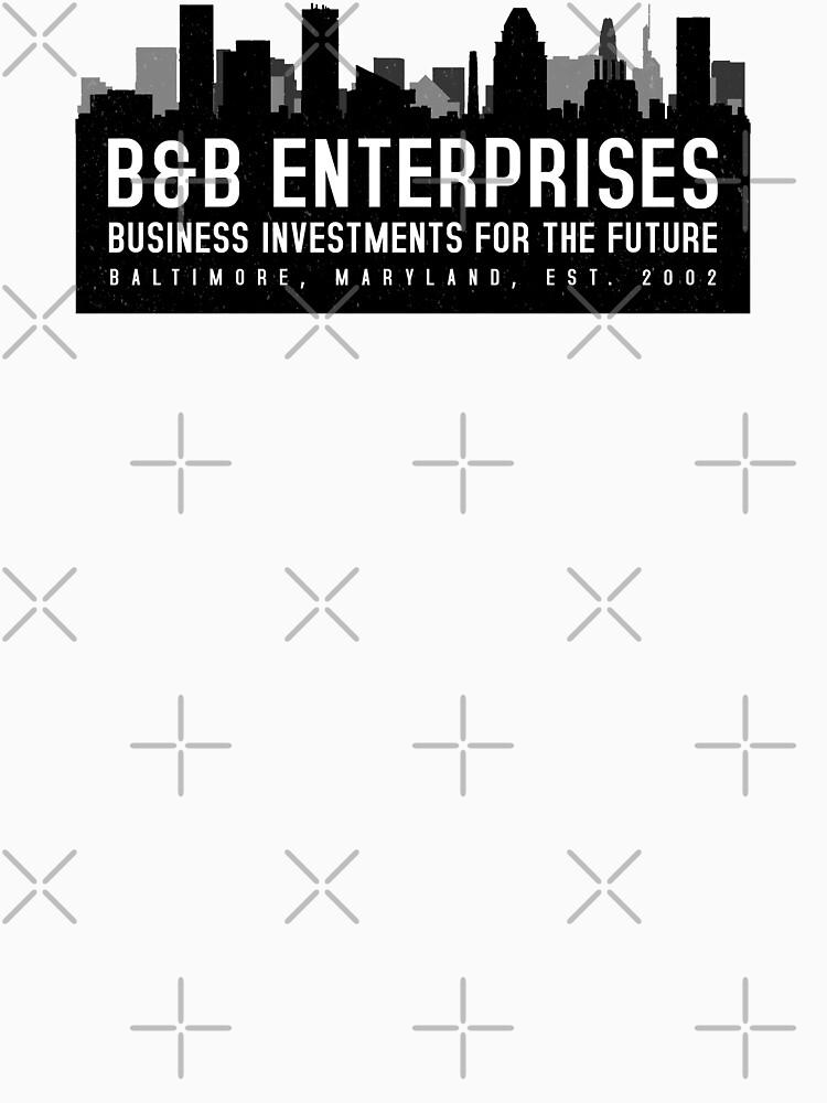 The Wire - B&B Enterprises - Black by garudoh