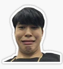 Pegatina Etiqueta engomada de BTS Jimin Meme
