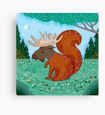 The Squoose Canvas Print
