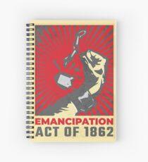 Emancipation Day Spiral Notebook