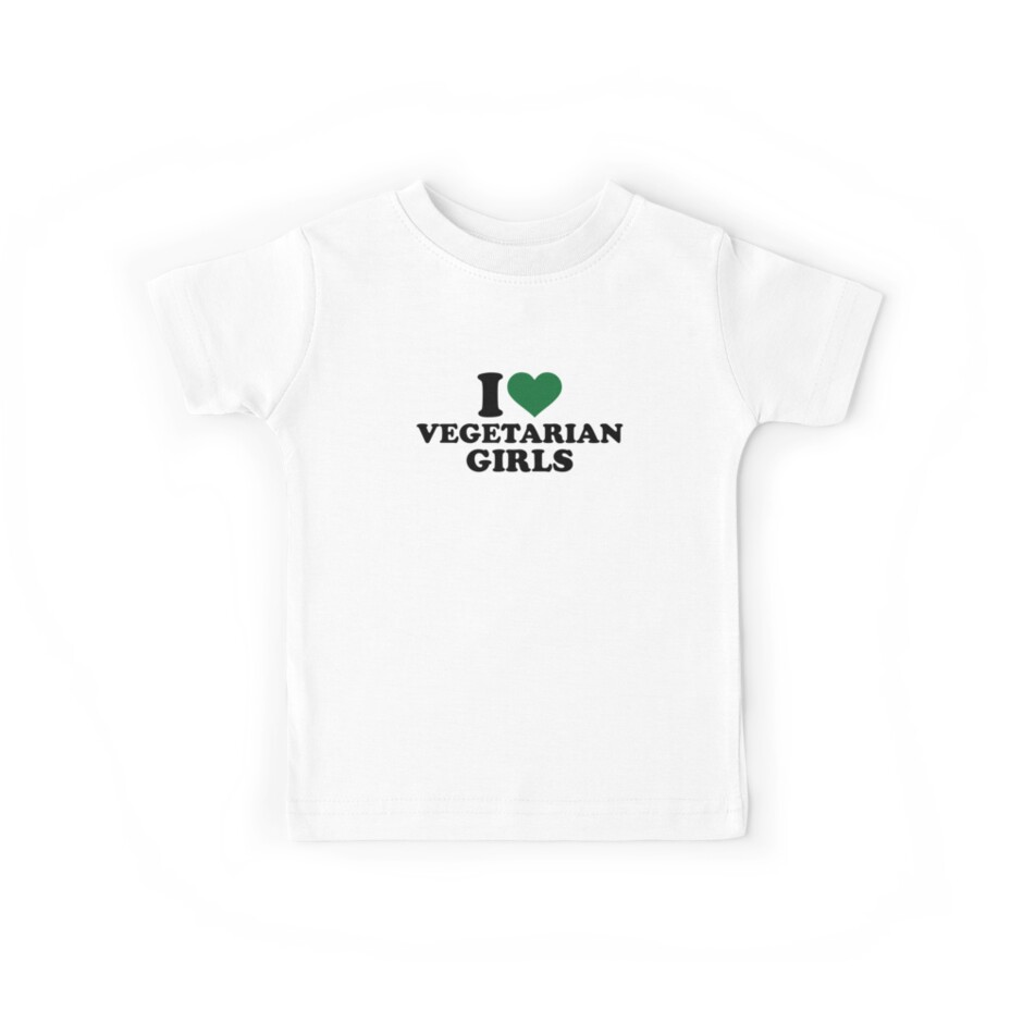 I love vegetarian girls by Designzz