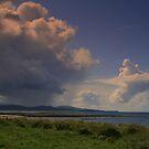 Clouds Over  Barra by Alexander Mcrobbie-Munro
