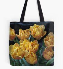 Peony Tulips Tote Bag