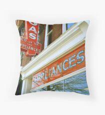 Richmond Old Storefront Throw Pillow