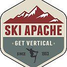 Ski Apache New Mexico Skiing by MyHandmadeSigns