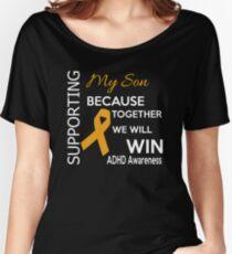 Support ADHD Awareness Design Women's Relaxed Fit T-Shirt