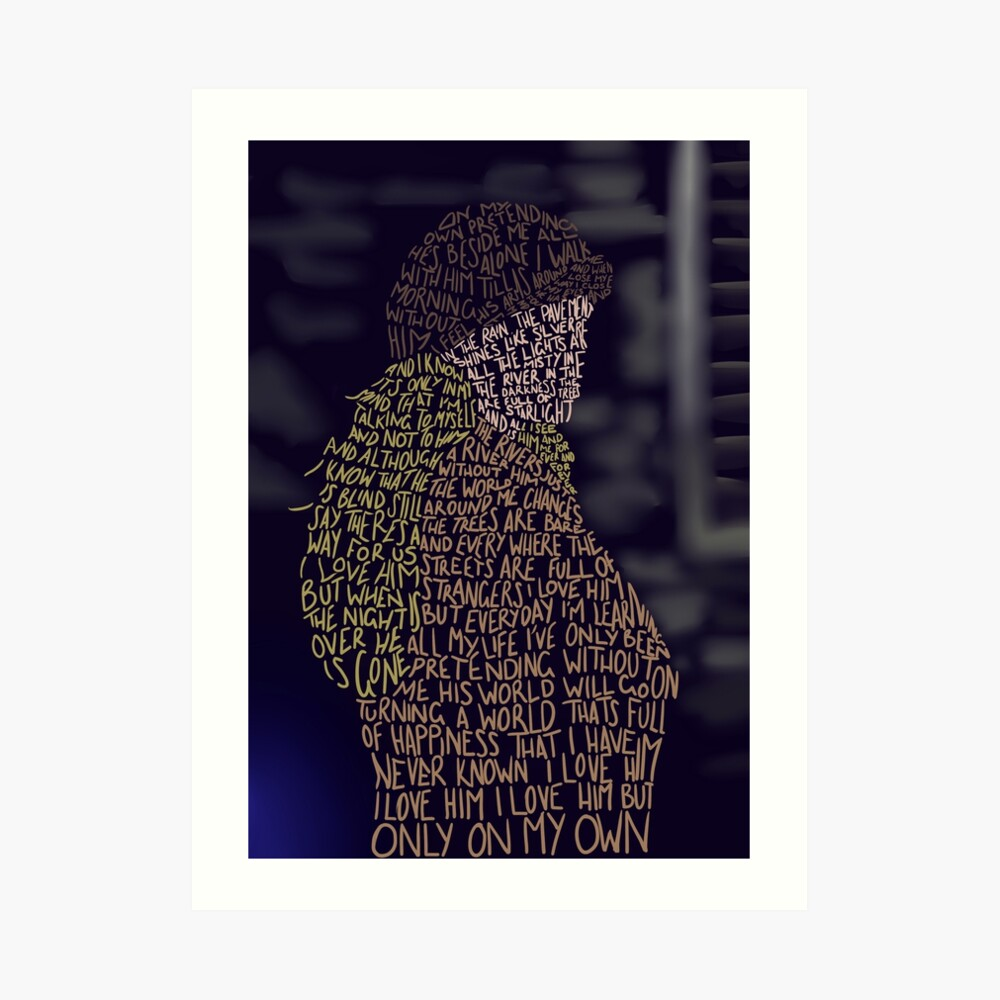 Les Miserables- Por mi cuenta Lámina artística